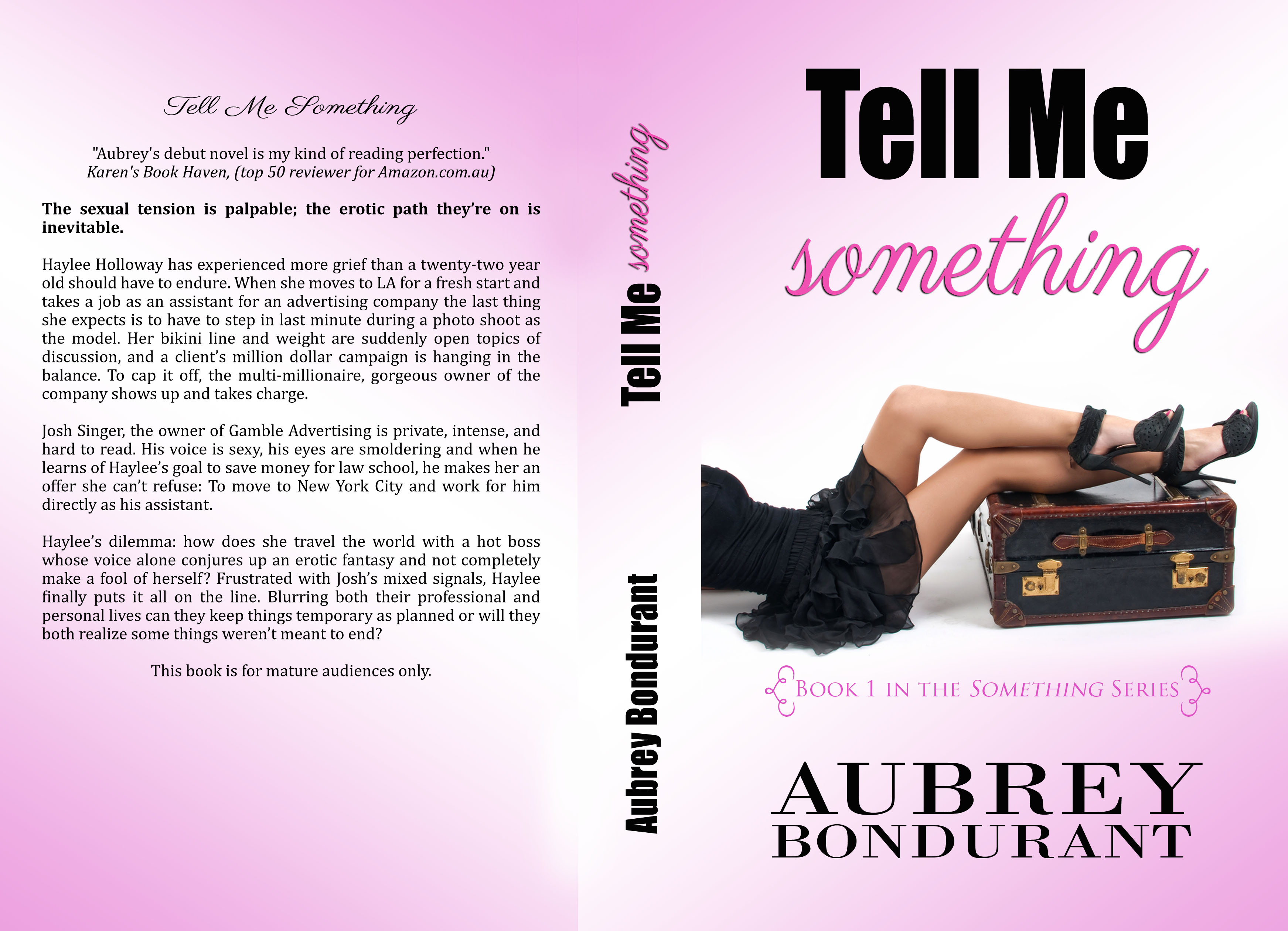 Love Aubrey Book Cover : Cover reveal for tell me something hard copy aubrey